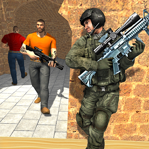 Anti-Terrorist Shooting Mission 2020 4.5 APK MODs Unlimited money free Download on Android
