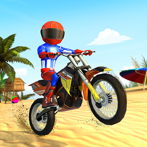 Beach Bike Stunts Crazy Stunts and Racing Game 5.1 APK MODs Unlimited money free Download on Android