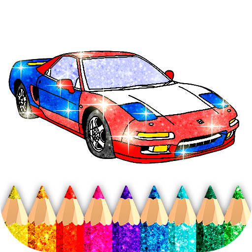 Car Coloring Game offline 1.7 APK MODs Unlimited money free Download on Android