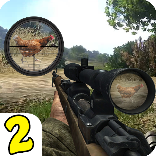 Chicken Shoot II Sniper Shooter 1.1.6 APK MODs Unlimited money free Download on Android