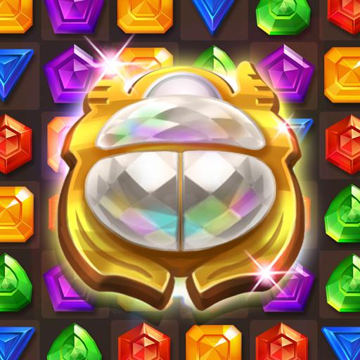 Cleopatras Jewels – Ancient Match 3 Puzzle Games 1.2.2 APK MODs Unlimited money free Download on Android