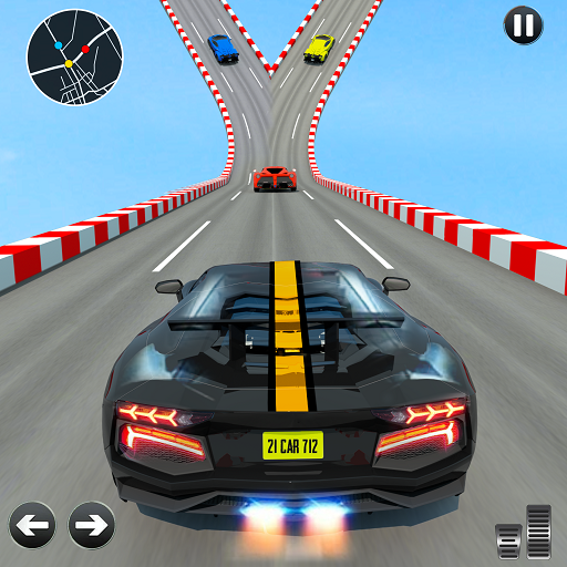 Crazy Ramp Car Stunts Mega Ramp Stunt Games 1.6 APK MODs Unlimited money free Download on Android