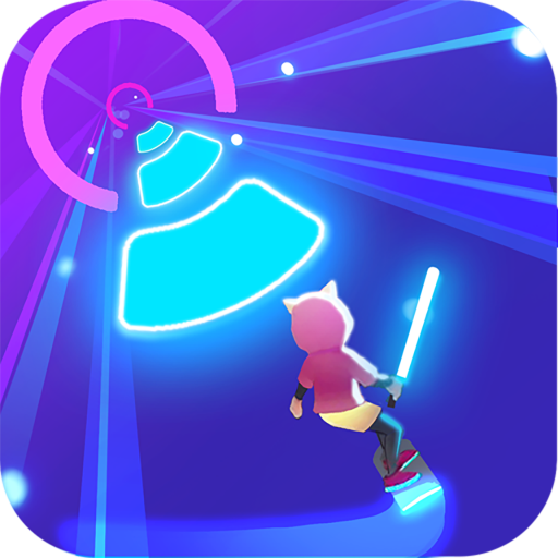 Cyber Surfer Free Game the Rhythm Knight 0.1.00 APK MODs Unlimited money free Download on Android