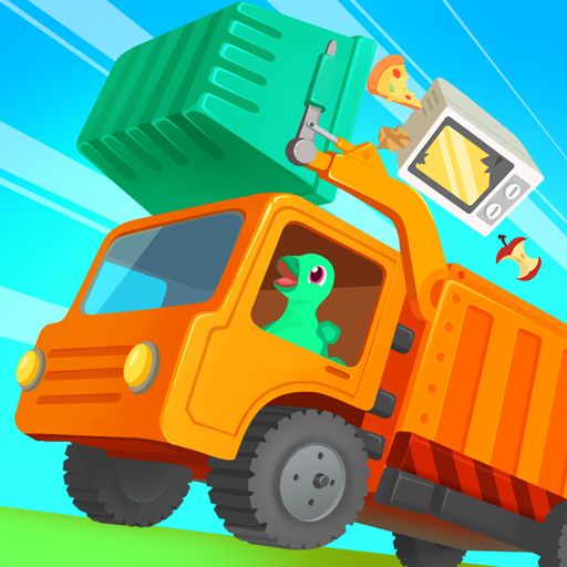 Dinosaur Garbage Truck – Games for kids 1.0.4 APK MODs Unlimited money free Download on Android