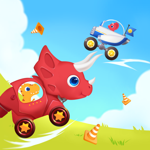 Dinosaur Smash Driving games for kids 1.1.2 APK MODs Unlimited money free Download on Android