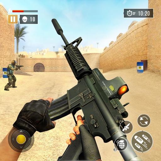 FPS Commando Secret Mission – Free Shooting Games 4.5 APK MODs Unlimited money free Download on Android
