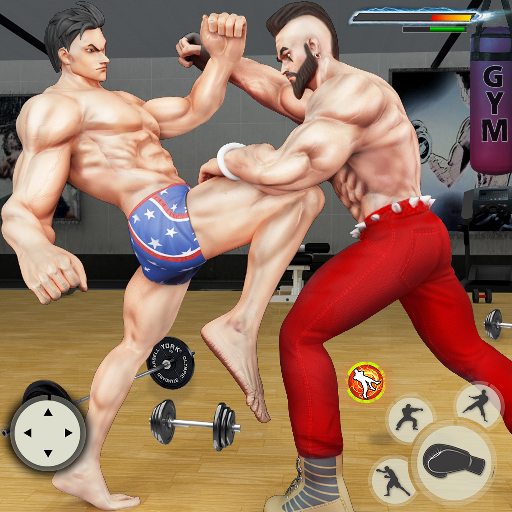 GYM Fighting Games Bodybuilder Trainer Fight PRO 1.4.7 APK MODs Unlimited money free Download on Android