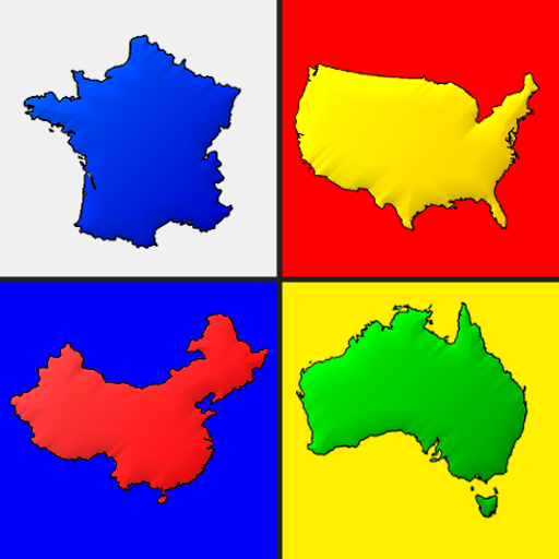 Maps of All Countries in the World Geography Quiz 3.1.0 APK MODs Unlimited money free Download on Android