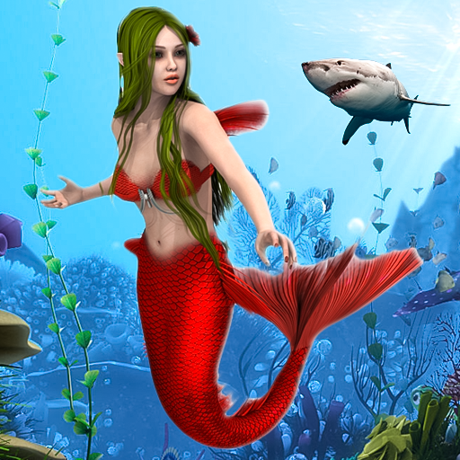 Mermaid Simulator Games Sea Beach Adventure 0.1 APK MODs Unlimited money free Download on Android
