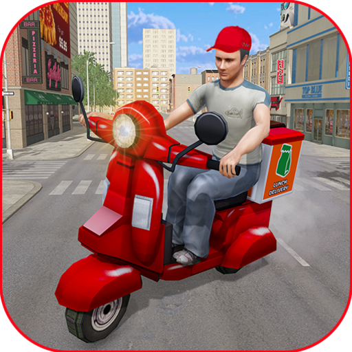 Moto Bike Pizza Delivery Games 2021 Food Cooking 1.12 APK MODs Unlimited money free Download on Android
