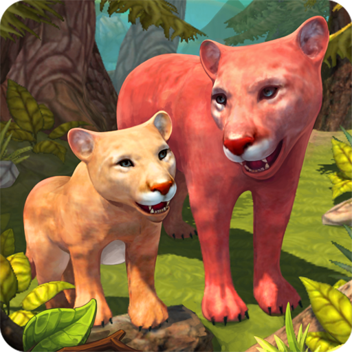 Mountain Lion Family Sim Animal Simulator 1.8.1 APK MODs Unlimited money free Download on Android