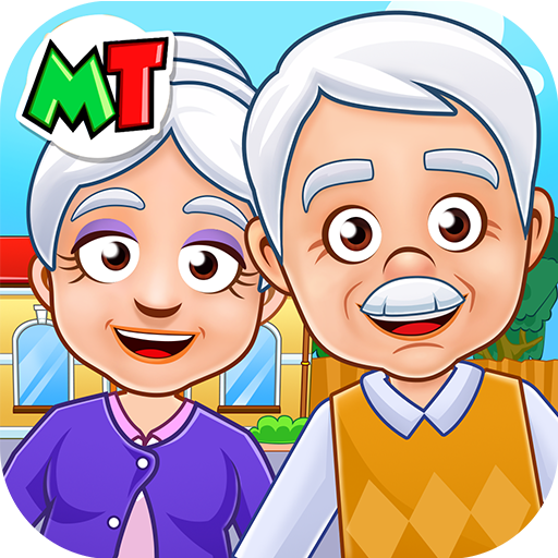 My Town Grandparents Play home Fun Life Game 1.03 APK MODs Unlimited money free Download on Android