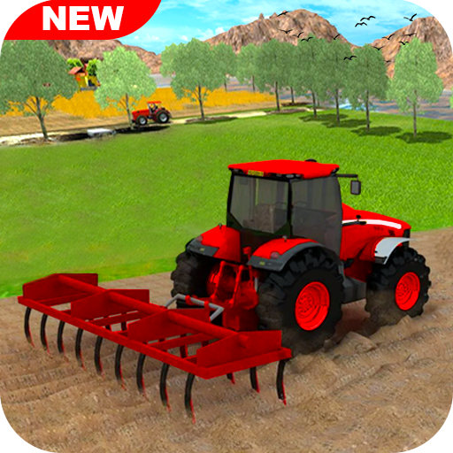 New Tractor Farming 2021 Free Farming Games 2021 1.11 APK MODs Unlimited money free Download on Android