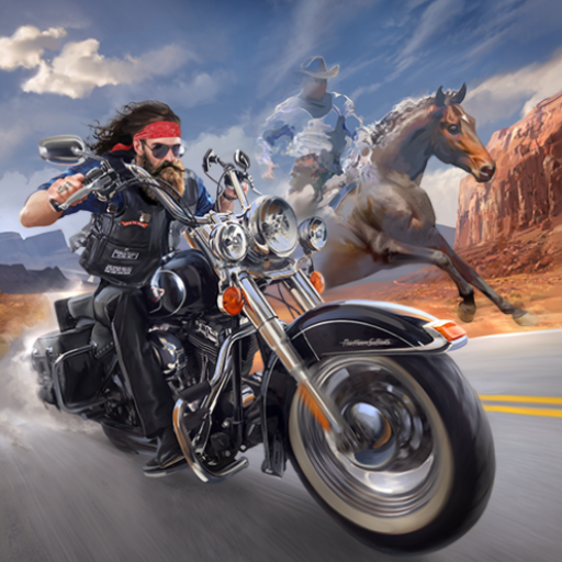 Outlaw Riders War of Bikers 0.2.1 APK MODs Unlimited money free Download on Android