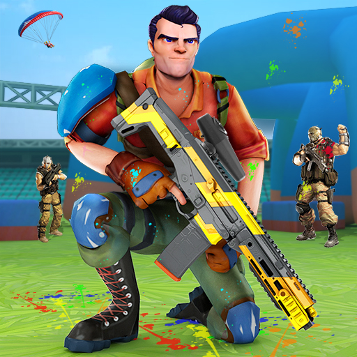 Paintball Shooting Games 3D 3.8 APK MODs Unlimited money free Download on Android