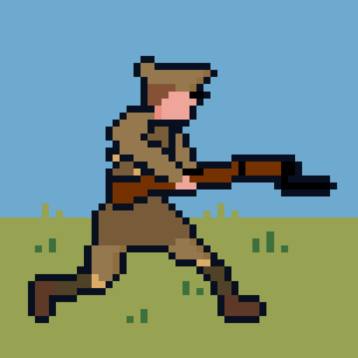 Pixel Trenches World War 1 2.0.1 APK MODs Unlimited money free Download on Android