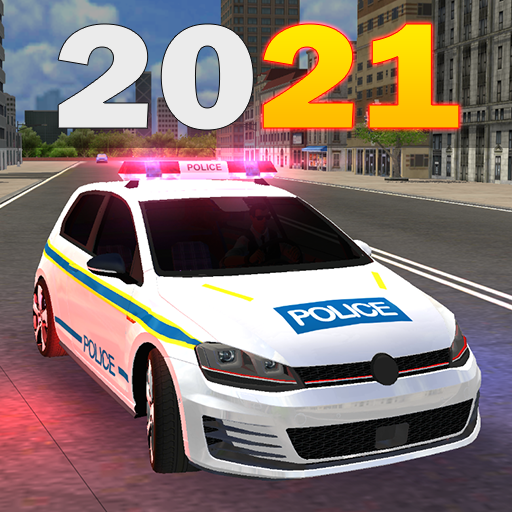 Police Car Game Simulation 2021 1.1 APK MODs Unlimited money free Download on Android