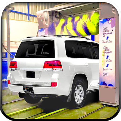 Prado Car Wash Service Modern Car Wash Games 1.0 APK MODs Unlimited money free Download on Android
