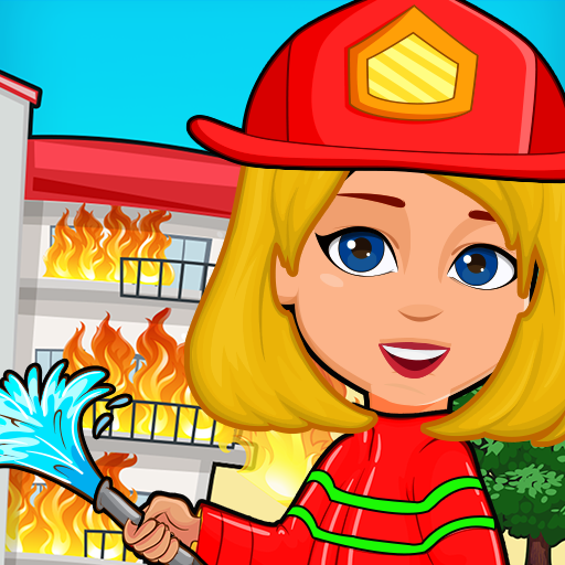 Pretend Play My Firestation Town Rescue Fireman 1.1.11 APK MODs Unlimited money free Download on Android