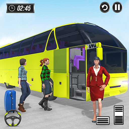 Public Transport Bus Coach Taxi Simulator Games 1.4 APK MODs Unlimited money free Download on Android