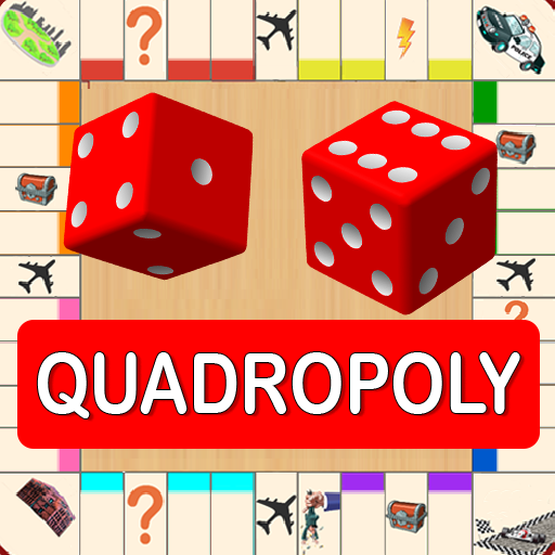 Quadropoly Best AI Board Business Trading Game 1.78.82 APK MODs Unlimited money free Download on Android