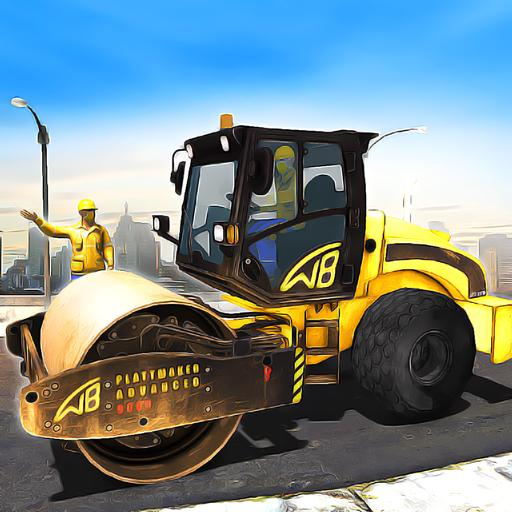Road Construction Games 2021 Building Games 2021 1.7 APK MODs Unlimited money free Download on Android