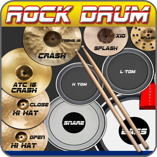 Rock Drum Kit 1.8 APK MODs Unlimited money free Download on Android