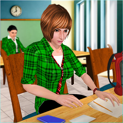 School Girl Simulator High School Life Games 1.10 APK MODs Unlimited money free Download on Android