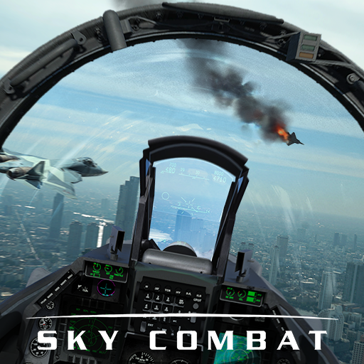 Sky Combat war planes online simulator PVP 4.2 APK MODs Unlimited money free Download on Android