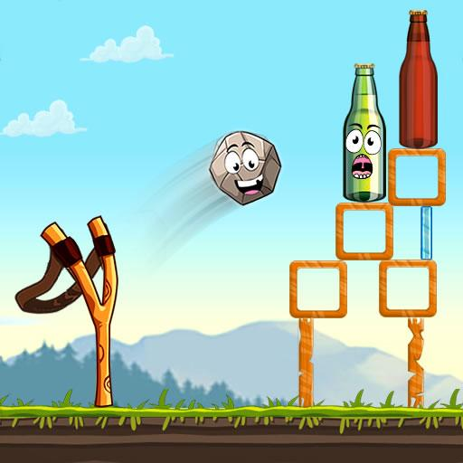 Slingshot Shooting Games Bottle Shoot Free Games 2.0.061 APK MODs Unlimited money free Download on Android