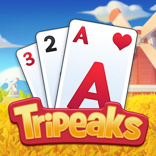 Solitaire Farm Classic Tripeaks Card Games 1.1.0 APK MODs Unlimited money free Download on Android