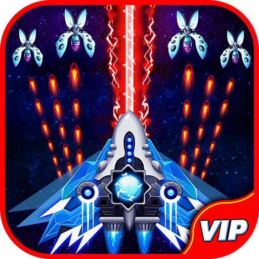 Space Shooter Alien vs Galaxy Attack Premium 1.487 APK MODs Unlimited money free Download on Android