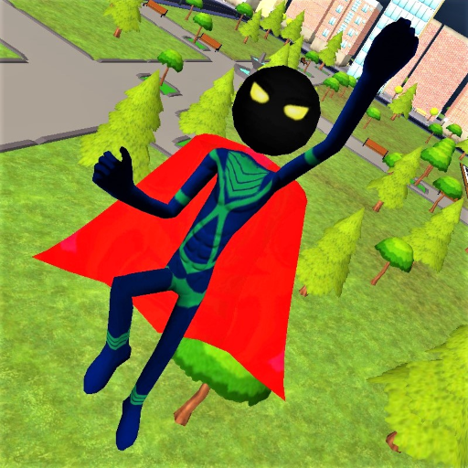 Stickman Superhero 1.4.8 APK MODs Unlimited money free Download on Android