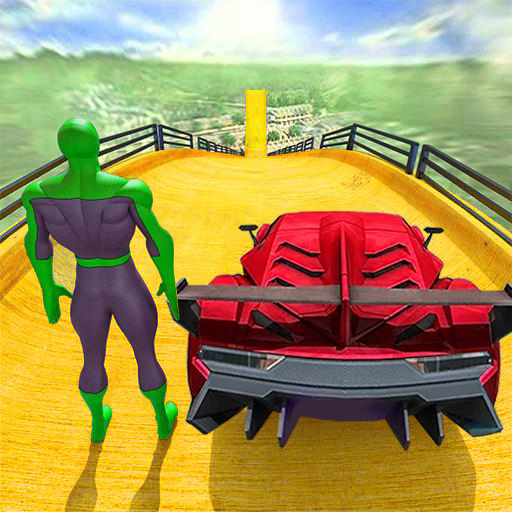 Superhero Car Stunts – Racing Car Games 1.6 APK MODs Unlimited money free Download on Android
