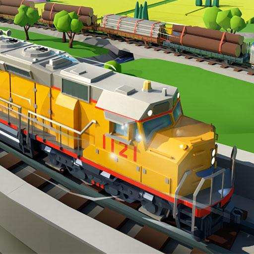 Train Station 2 Railroad Tycoon City Simulator 1.32.0 APK MODs Unlimited money free Download on Android