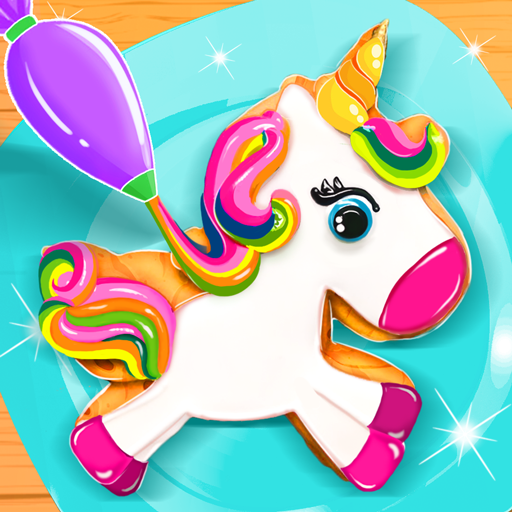 Unicorn Cookie Baker Kitchen 1.7 APK MODs Unlimited money free Download on Android