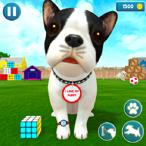 Virtual Puppy Dog Simulator Cute Pet Games 2021 2.1 APK MODs Unlimited money free Download on Android
