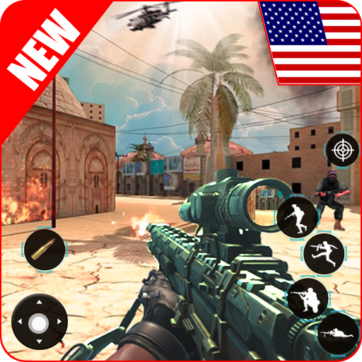 offline shooting game free gun game 2020 1.6.1 APK MODs Unlimited money free Download on Android