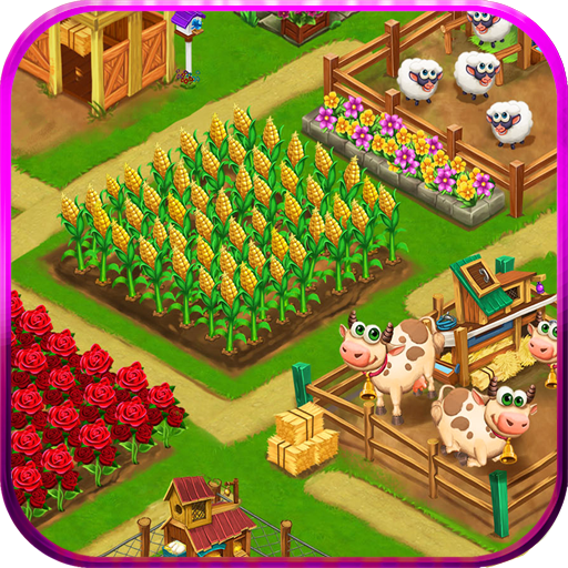 Farm Day Village Farming Offline Games 1.2.45 APK MODs Unlimited money Download on Android