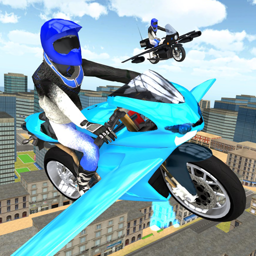 Flying Motorbike Simulator 1.20 APK MODs Unlimited money Download on Android