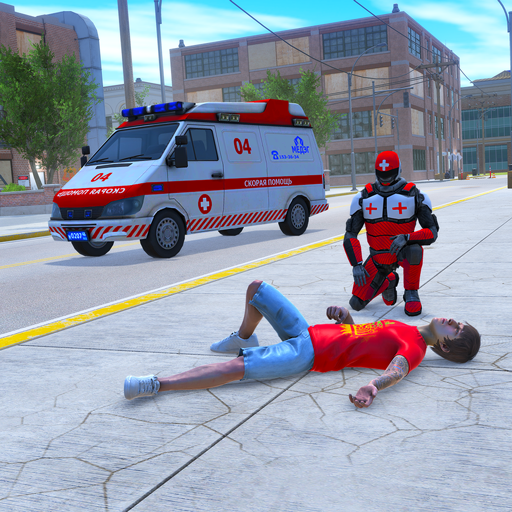 Light Speed Hero Rescue Mission City Ambulance 1.0.4 APK MODs Unlimited money Download on Android