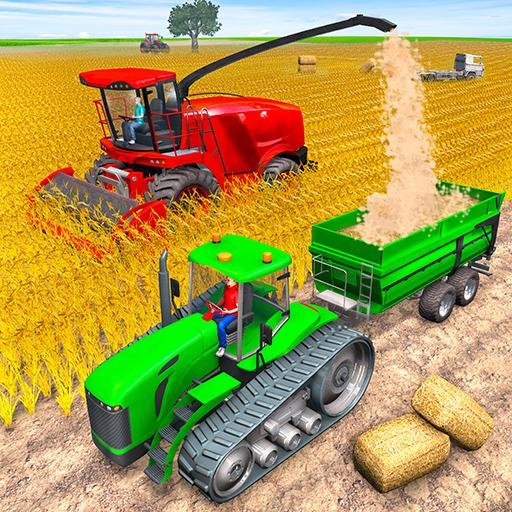 Modern Tractor Farming Simulator Offline Games 1.34 APK MODs Unlimited money Download on Android