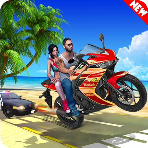 Theft Bike Drift Racing 1.10 APK MODs Unlimited money Download on Android